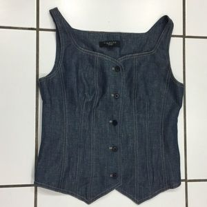 New Arrival✨Talbots Blue Denim Tank Top/Vest
